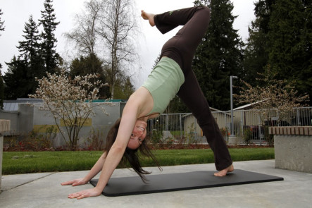 Three Legged Downward Facing Dog – Adho Mukha Svanasana  (YOGA)