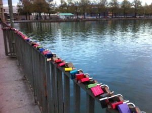 Lovelocks along Maschee Lake